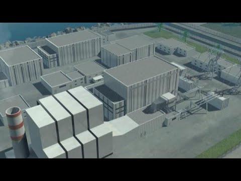 Le fonctionnement d'une centrale thermique au gaz à cycle combiné
