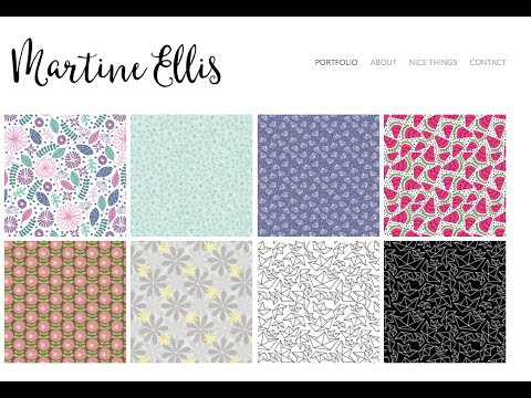 Katharyne Shelton interviews Pattern Designer Martine Ellis - Pitching, Podcasts and a 2 Year Plan