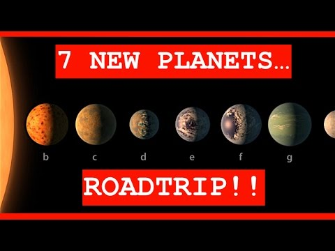 NASA: 7 NEW EARTH-LIKE PLANETS DISCOVERED! AMAZING!! Here are the details...
