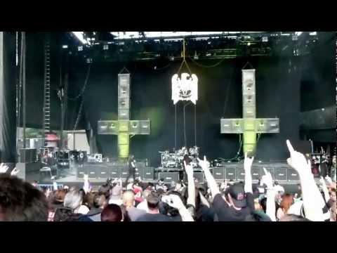 SLAYER - WAR ENSEMBLE - ROCKSTAR MAYHEM FESTIVAL 2012 - SHORELINE MOUNTAIN VIEW CA 1080P