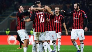 Europa League, Milan-Dudelange 5-2: gol e highlights