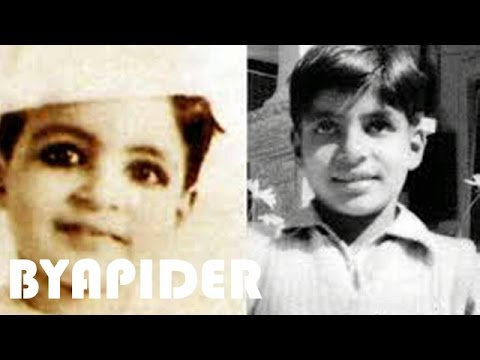 Amitabh Bachchan Childhood Photos || Rare & Unseen pictures!!!