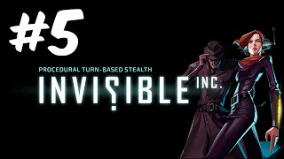 Invisible Inc #5 - Executive Terminals lead to new toys!