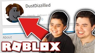 MAKING MY LITTLE BROTHER A ROBLOX ACCOUNT!!