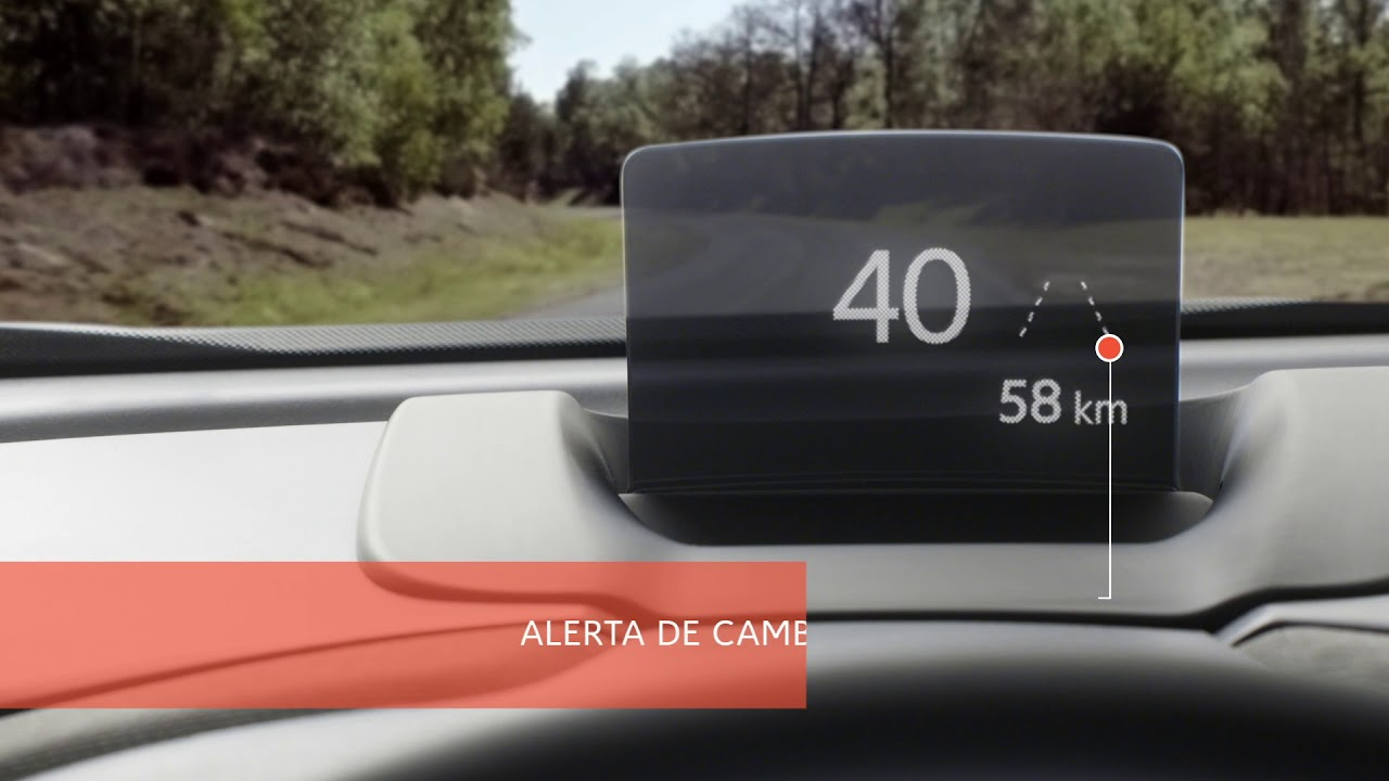 Citroën - C3 Aircross- Tutorial Head Up Display en color