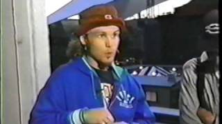 Pearl Jam - Jeff Ament and Stone Gossard Interview pt1 (Mt View, 1992)