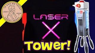 Лазер X ігрова вежа - реальні ігри для соло або голова до голови дій