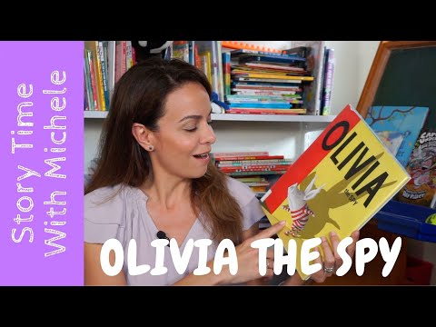 "Story Time With Michele! ""Olivia: The Spy"" interactive read aloud for kids"