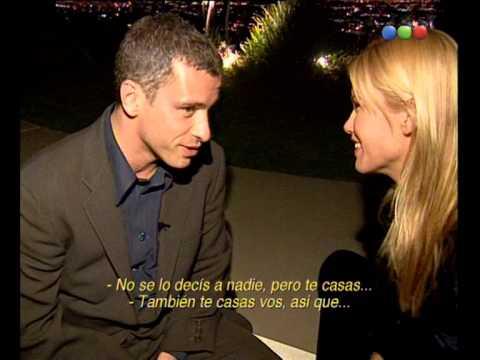 Valeria Mazza y Eros Ramazzotti en Los Angeles - Versus