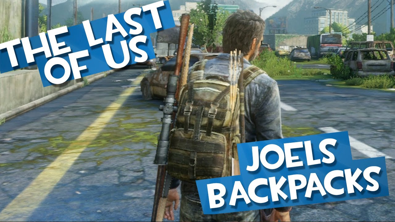 The Last of Us: All of Joels Unlockable Backpack Skins   Long ...
