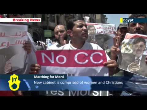 Islamists Protest in Cairo: Hundreds march against composition of Post-Morsi cabinet