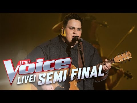 Judah Kelly - 'Iris'  | The Voice Australia 2017
