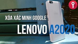 Xóa xác minh tài khoản Google cho Lenovo Vibe C (A2020) - Android 5.1.1
