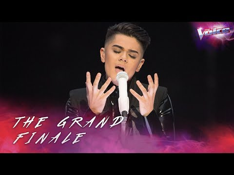 Grand Finale: Sheldon Riley sings Young and Beautiful   The Voice Australia 2018
