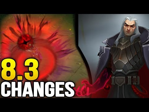 Big changes coming soon in Patch 8.3 (League of Legends)