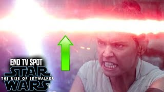 "The Rise Of Skywalker ""End"" TV Spot THINGS You Didn't Know! (Star Wars Episode 9 New Footage)"