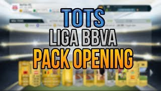 TOTS LIGA BBVA PACK OPENING - FIFA 14 Ultimate Team (PC)
