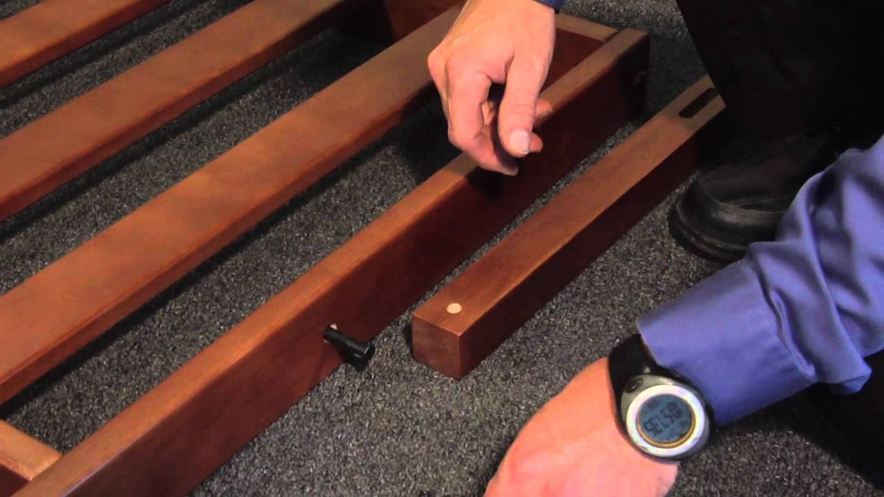 Strata Furniture Wallhugger Futon Frame Assembly YouTube