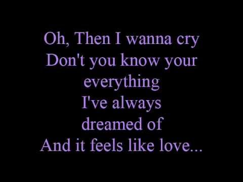 Feels like love - lyrics