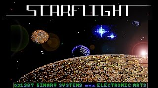 Starflight (PC/DOS) 1986, Binary Systems, Electronic Arts