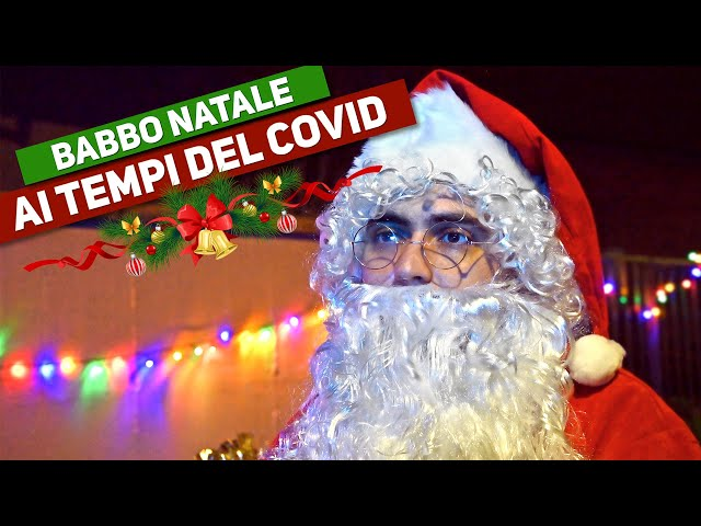 BABBO NATALE AI TEMPI DEL COVID - Parodia