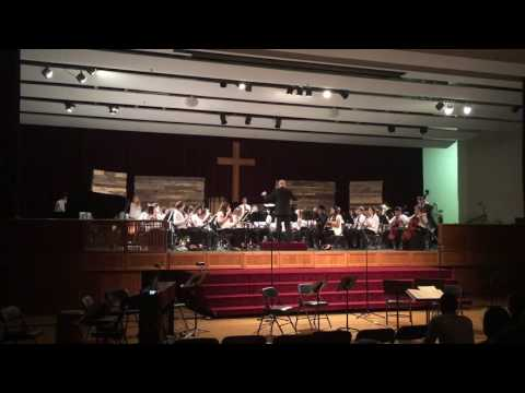 Chapelgate Christian Academy Symphonic Band -Spring 2016 - The Incredibles