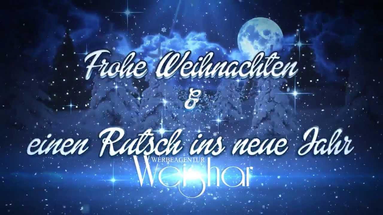 werbeagentur weishar weihnachtsw nsche 2013 youtube