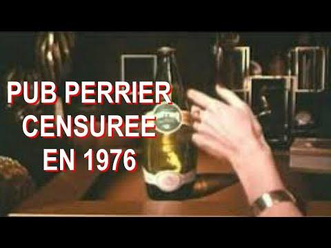Pub Perrier Censurée en 1976