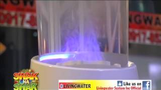LIVINGWATER HYDROGENATED WATER @ ABS CBN Kabuhayang Swak na Swak, Dec 5 2014