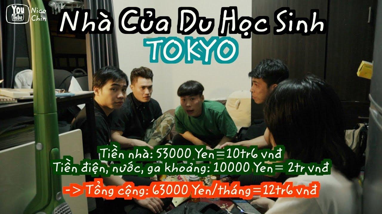 「Japan Vlog 18」THĂM NHÀ CỦA DU HỌC SINH NHẬT BẢN Ở TOKYO | Nico Chin