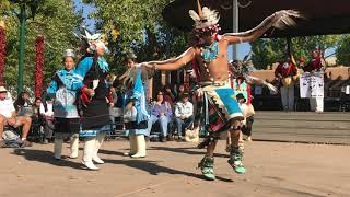 Indigenous Peoples Day Celebration 2017 -  Zuni Pueblo - Soaring Eagle Dance Group Clip 8