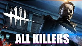 "Dead By Daylight - ""All TRAILERS & KILLERS"" - DEAD BY DAYLIGHT EVOLUTION 2018 (SEPTEMBER)"
