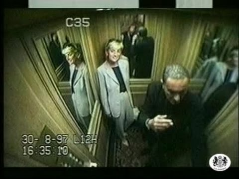 Princess Diana - Final Day CCTV - Raw Footage