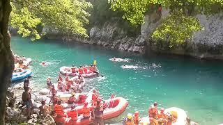 Rafting Tara River Canyon, border Montenegro - Bosnia, Brstanovica - Scepan Polje, Durmitor Sutjeska