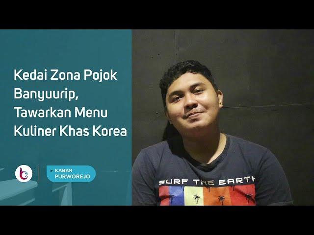 Kedai Zona Pojok Banyuurip, Tawarkan Menu Kuliner Khas Korea