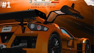 Lets Play Test Drive Unlimited 2 - Part 1