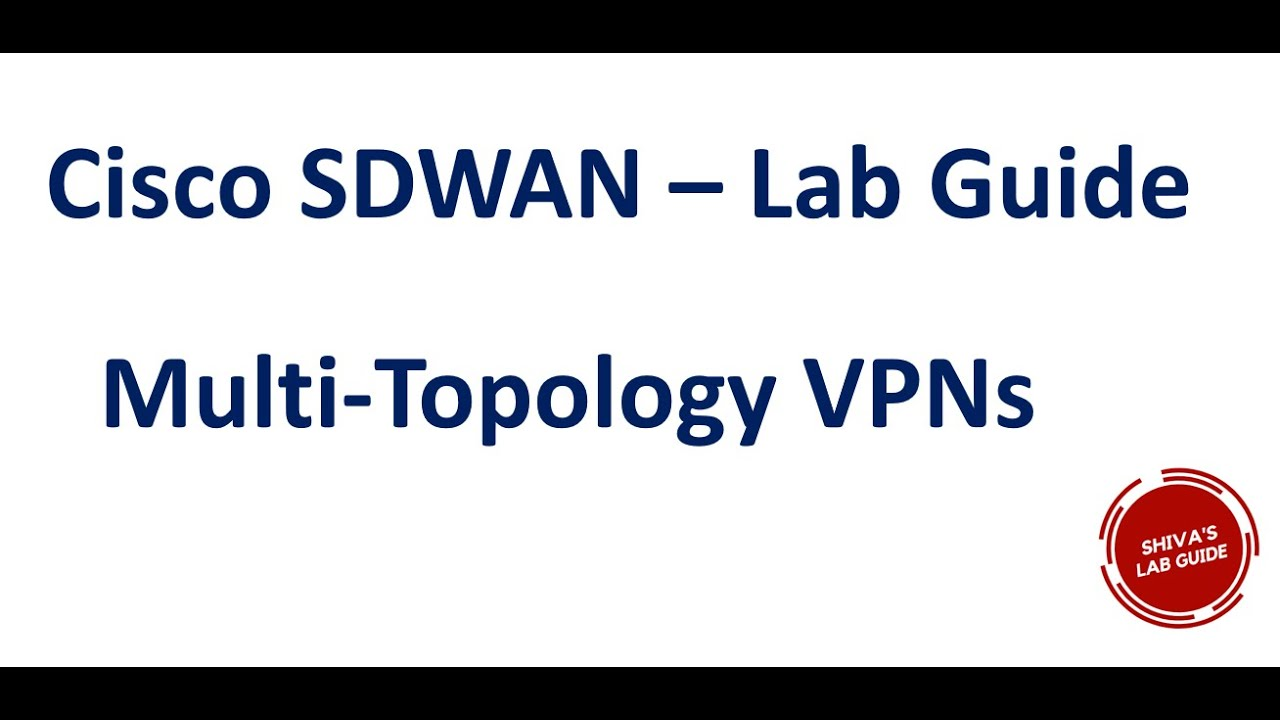 Multi Topology Vpn Using Control Policy Route Filtering Tloc Cisco Sdwan Youtube