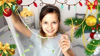 ŚWIĄTECZNY CLEAR SLIME Pomysł na prezent DIY  CookieMint