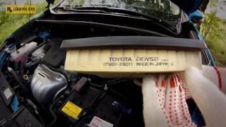 Toyota RAV4 2015 Замена воздушного фильтра смотреть