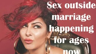 Sex outside marriage happening for ages now