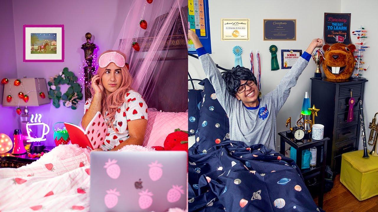 Summer Morning Routine! *POPULAR GIRL vs NERDY BOY*