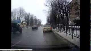 Уроки вождения -город 2. .Автошкола