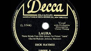 Watch Dick Haymes Laura video
