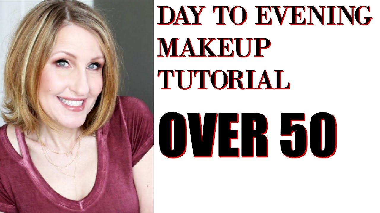 EASY DAY TO EVENING MAKEUP OVER 9