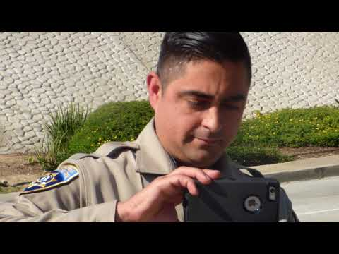 C.H.P.  California  Highway Patrol ( APPROACHED THEN FOLLOWED, INTIMIDATION FAIL 1st Amend Audit