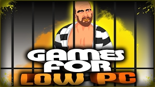 TOP 10 games for low PC | Games about Prison