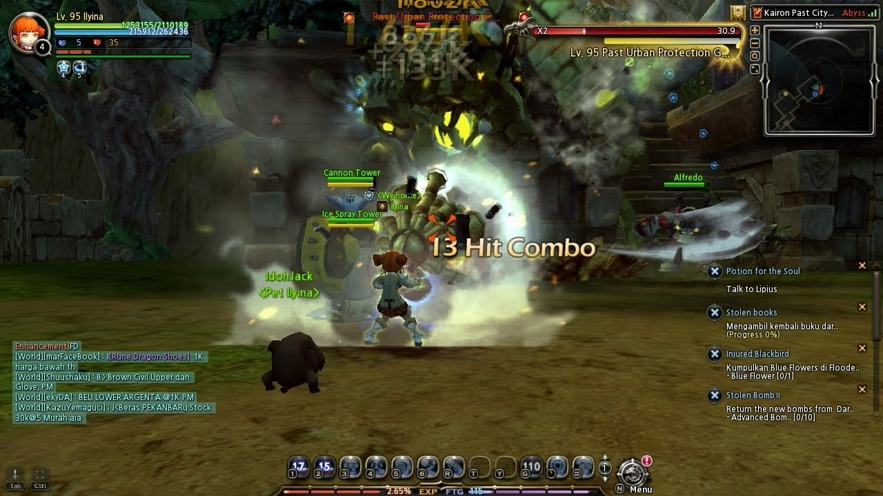 Dragon Nest Shooting Star Solo Gameplay Level 95