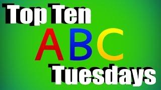 Top Ten - Letters in the alphabet