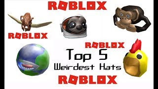 Top 5 Weirdest Hats on Roblox