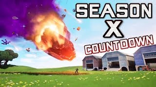 FORTNITE SEASON X SERVER ARE LIVE - NEXUS ORB EXPLODING - NEW SEASON 10 MAP AND BATTLE PASS GAMEPLAY